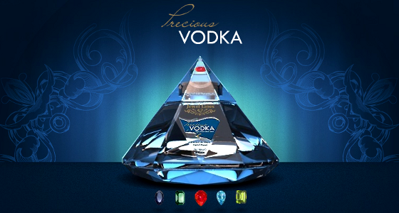 Jewellines Precious Vodka