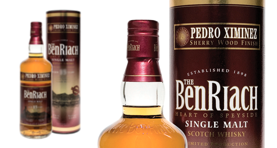BenRiach 12 Years Old Pedro Ximenez WOOD FINISH